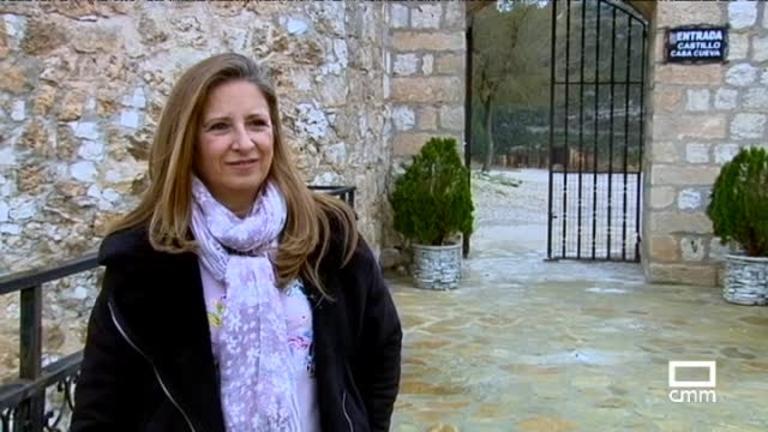 El castillo árabe de Alcalá de Júcar en Albacete