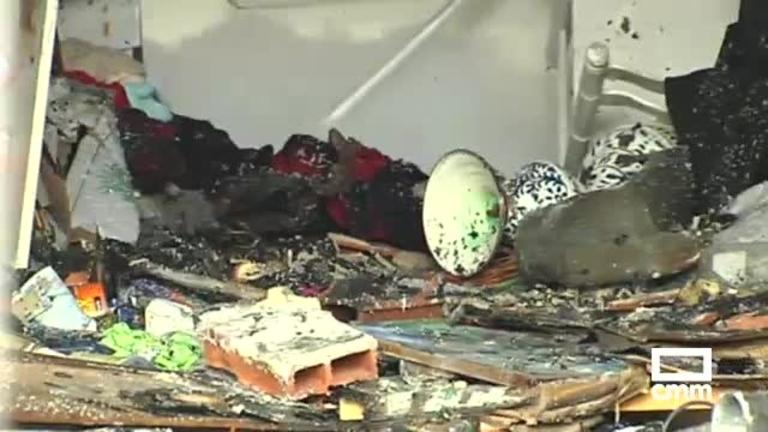 Un hombre se suicida tras incendiar su casa con su mujer dentro en Cabanillas del Campo