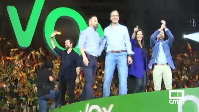 Elecciones: Vox se lanza al 10N con duros ataques al PSOE en Vistalegre