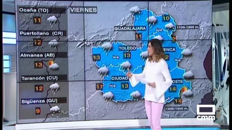 El tiempo en Castilla-La Mancha: este Viernes Santo llegan las lluvias
