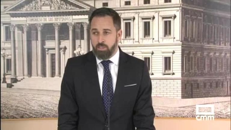 Vox: Santiago Abascal critica al gobierno en funciones por no actuar ante los ataques a su partido