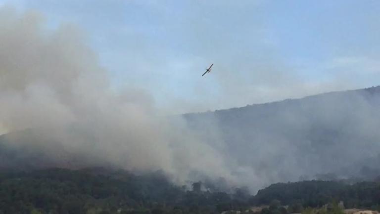 Controlado el incendio forestal de San Pablo de los Montes