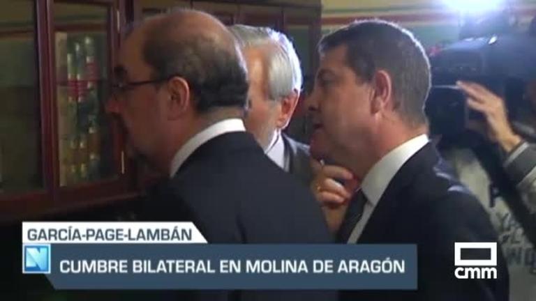 CLM y Aragón, juntos contra la despoblación: encuentro en Molina de Aragón