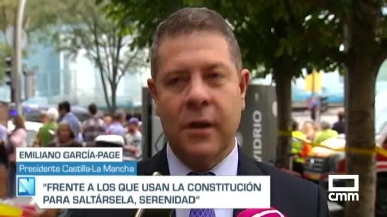 García-Page hace un llamamiento a la defensa de la Constitución: