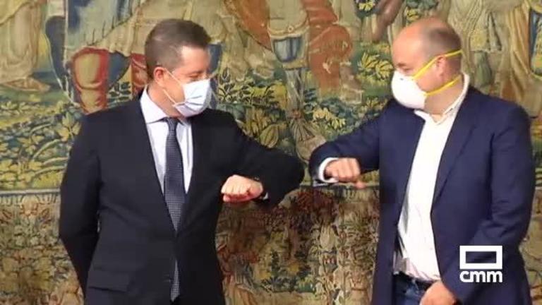 Gobierno regional, PSOE y CS firman el acuerdo por la recuperación de Castilla-La Mancha