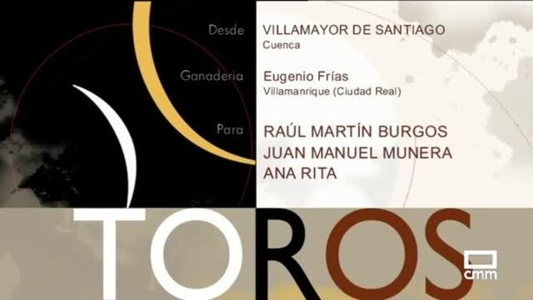 Rejones desde Villamayor de Santiago