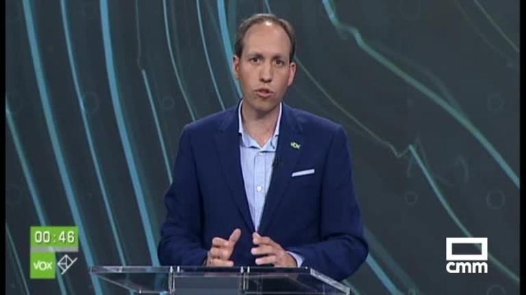 Intervenciones de Daniel Arias (Vox) en el debate