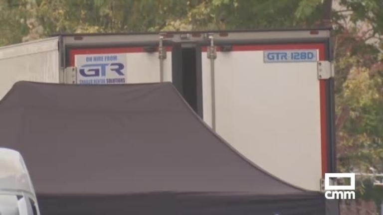Encuentran 39 cadáveres en un camión en Grays (Essex, Reino Unido) y detienen al conductor