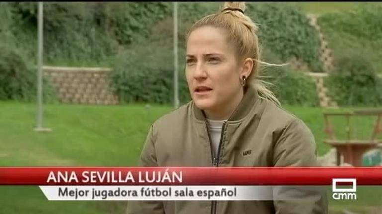 Anita Luján, primera centenaria de La Roja