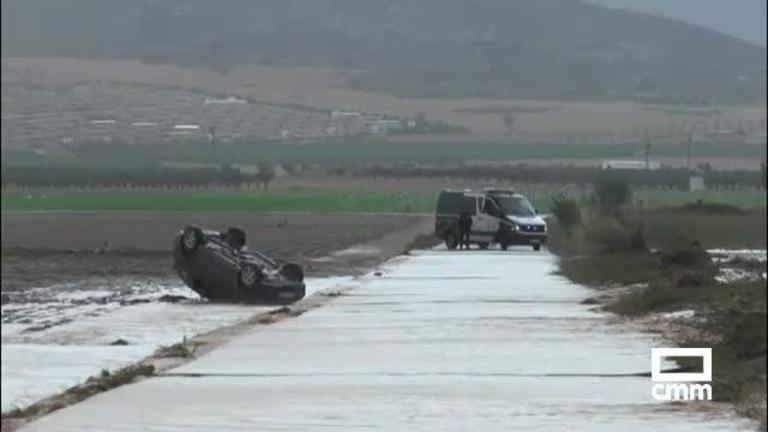 La gota fría golpea Albacete: principales incidentes del jueves