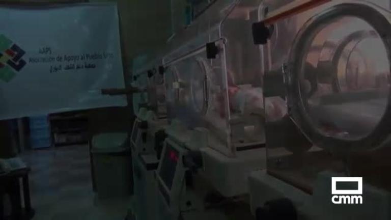 Talavera de la Reina se solidariza con los recién nacidos de Siria