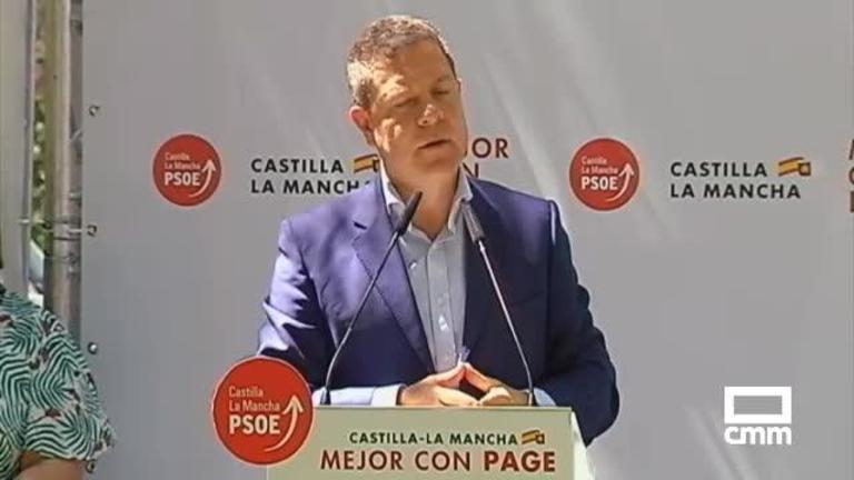 """PSOE: Page exigirá un pacto por el agua """"auténtico"""" a los partidos con representación en las Cortes regionales"""