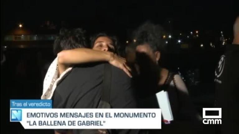 Los padres de Gabriel Cruz: