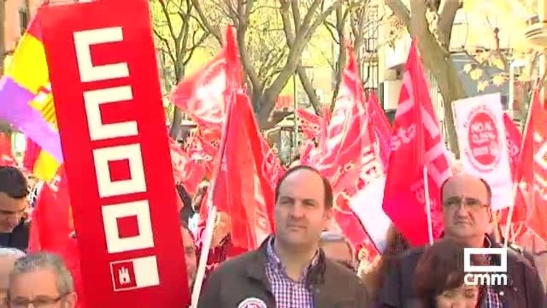 Manifestación en Ciudad Real por unas pensiones dignas