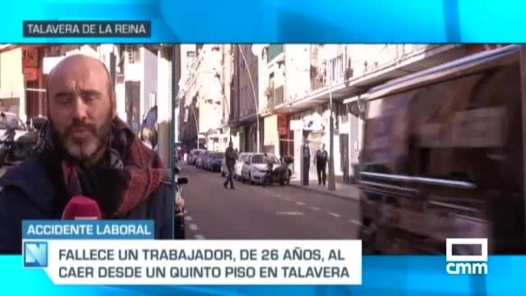 Muere un trabajador de 26 años en Talavera al precipitarse de un quinto piso
