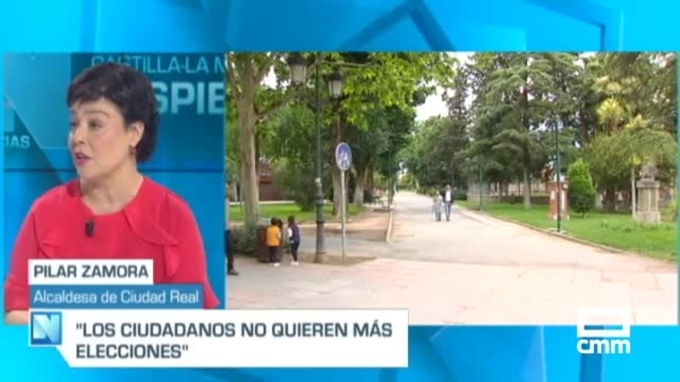 Pilar Zamora, alcaldesa de Ciudad Real, en CMM: