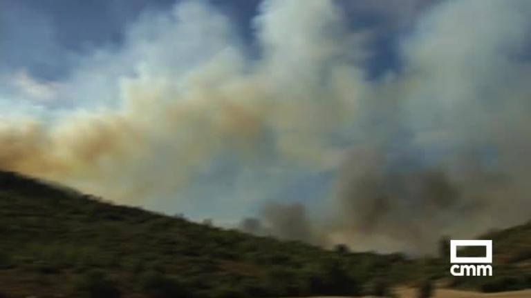 El incendio de Valdeavellano baja a nivel 0 de alerta