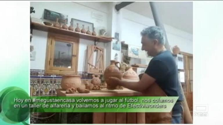 #MeGustaEnCasa con Rubén Sobrino, Efectiviwonders y nos colamos en un taller de alfarería