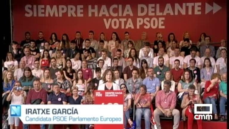 PSOE: Iratxe García apuesta por una Europa social-demócrata