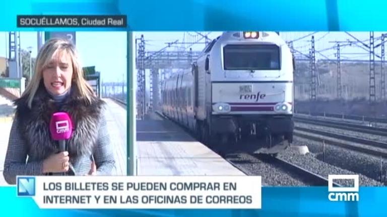 Renfe se compromete a seguir vendiendo billetes en las estaciones de Socuéllamos y Campo de Criptana