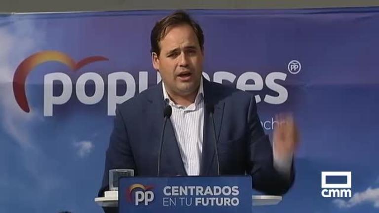 PP: Núñez se compromete con los agricultores y enfermeros, y Alonso propone potenciar el Consejo de Mayores