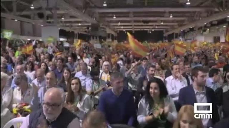 Vox lanza su campaña con Santiago Abascal en Barcelona
