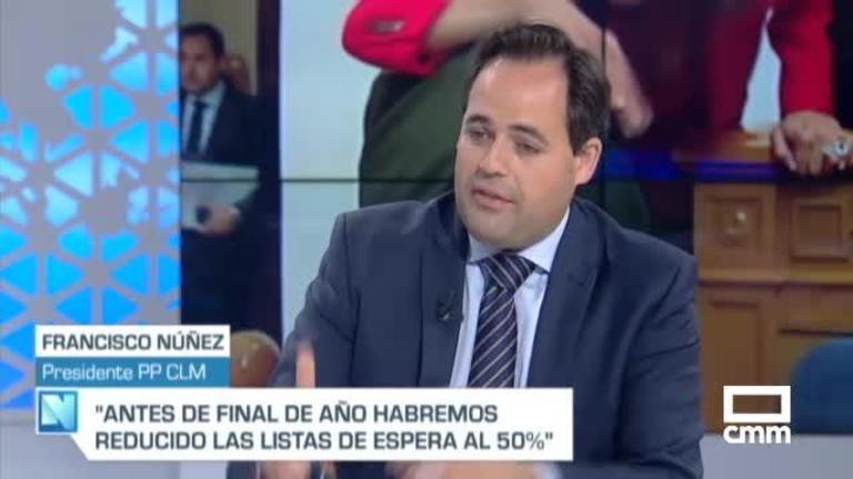 """Nuñez (PP), en CMM: """"No hay ningún pacto cerrado a nivel autonómico, todo está por hacer"""""""