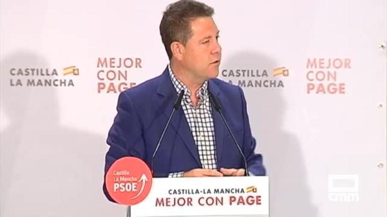 PSOE: García-Page apoyará a las empresas que sean motor económico de la región, y Martín presenta con un proyecto pensado para las personas