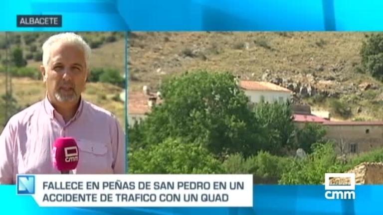 Muere el conductor de un quad en Peñas de San Pedro (Albacete)