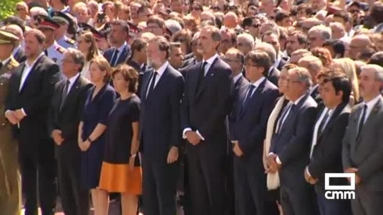 Muere una mujer, víctima del atentado en Cambrils mientras se suceden los homenajes en Barcelona y Castilla-La Mancha