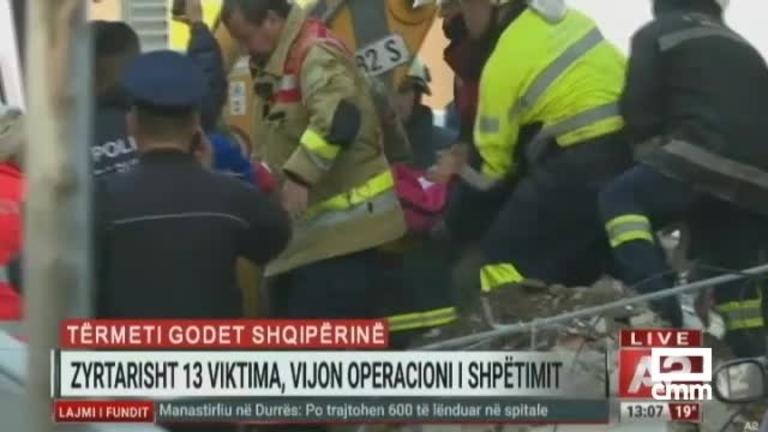 Terremoto en Albania: al menos 16 muertos y más de un centenar de réplicas