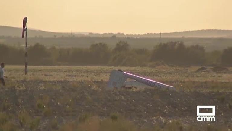 Un muerto en accidente de avión en Villa de Don Fadrique (Toledo)