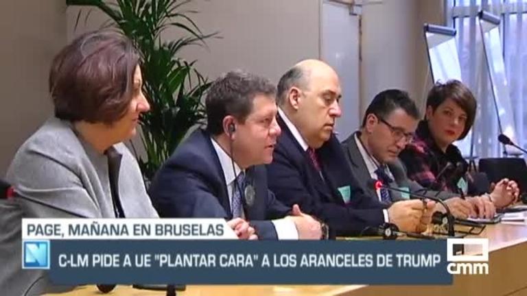CLM pedirá a la UE, en Bruselas,