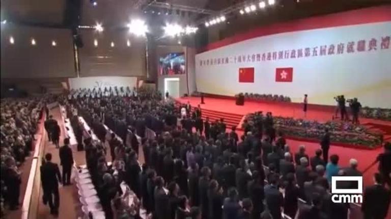 20 aniversario del traspaso de la soberanía de Hong Kong a China
