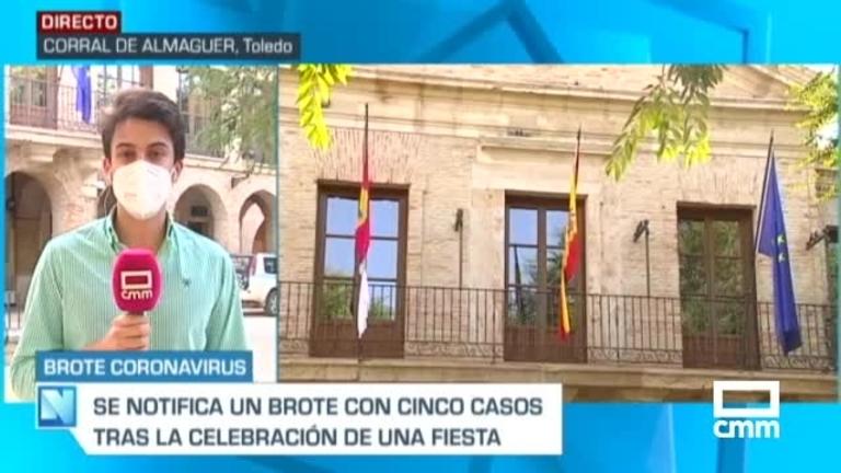 Detectan un nuevo brote en Corral de Almaguer (Toledo), con 5 positivos