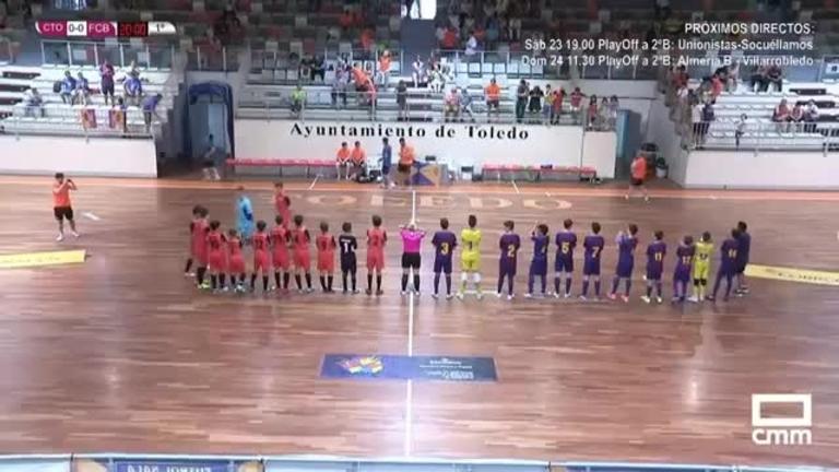 Final Infantil. Ciudad de Toledo - FC Barcelona