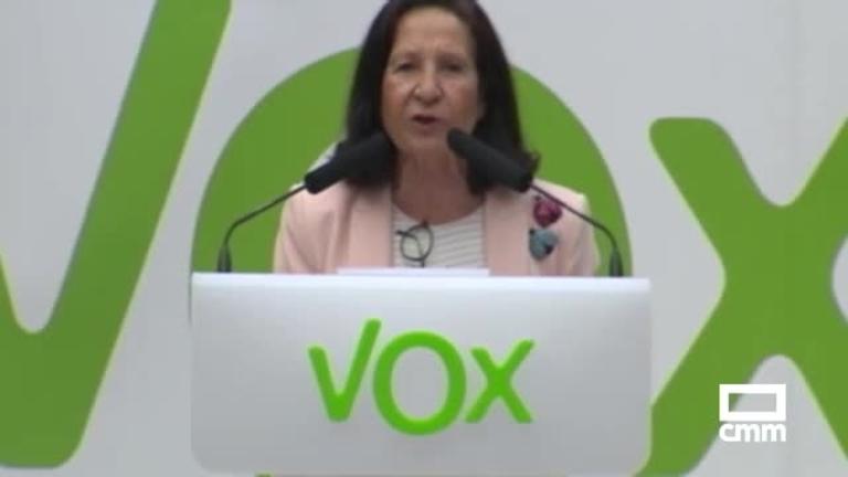Vox: Aguilar pide el voto para exigir mayor control en las fronteras para luchar contra la inmigración ilegal