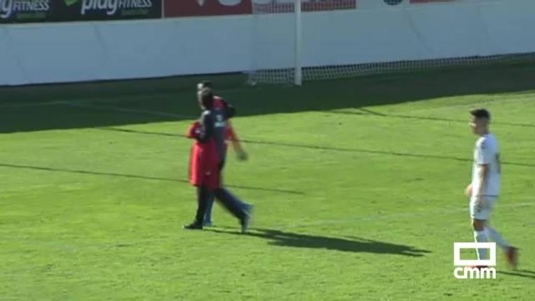 Diop, jugador de La Roda CF: