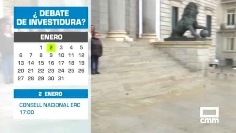 Ya hay fecha para la investidura de Pedro Sánchez: 4,5 y 7 de enero