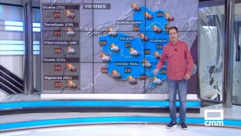 Más tormentas e incluso granizo: Aviso naranja en Toledo, Cuenca y Guadalajara