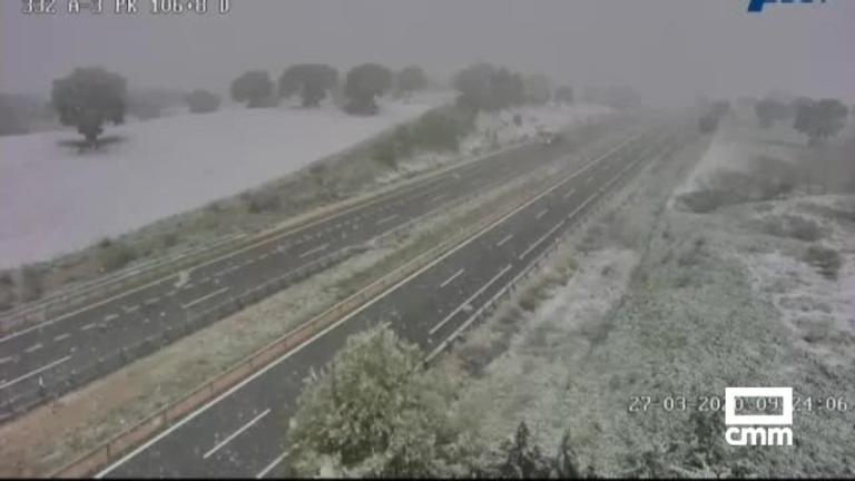 Nieve en Castilla-La Mancha: hay aviso amarillo en Albacete, Ciudad Real y Cuenca