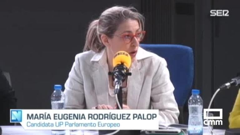 Unidas Podemos: Rodríguez Palop advierte de las intenciones de la extrema derecha de boicotear las instituciones europeas desde dentro