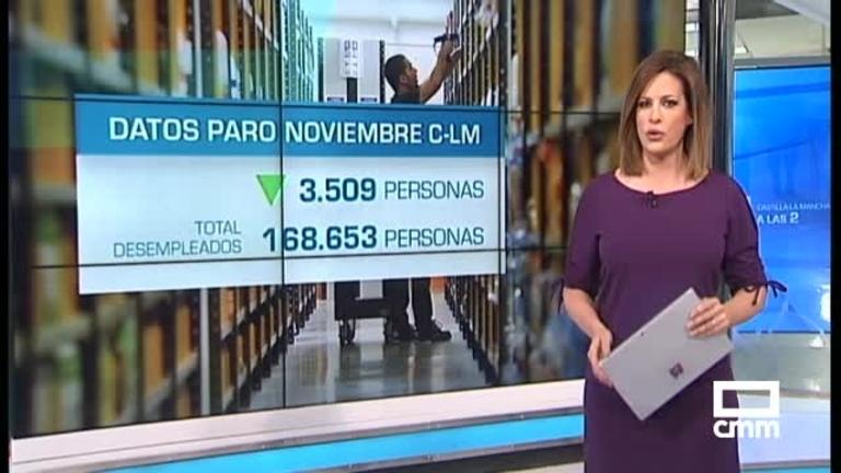 El paro baja en 3.509 personas en Castilla-La Mancha en noviembre