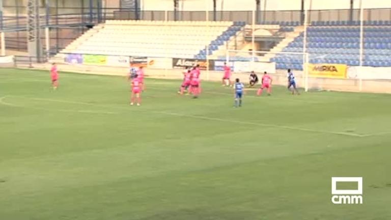 CF Talavera - CF Fuenlabrada (0-1)