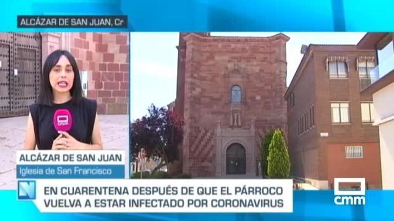 Cierra la iglesia de San Francisco de Alcázar de San Juan al dar positivo Covid19 el párroco