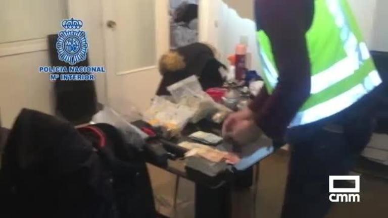 Golpe al tráfico de drogas en Albacete: 9 detenidos y dos kilos de cocaína incautadas