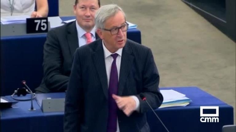 Juncker abronca a Eurocámara con solo 30 eurodiputados
