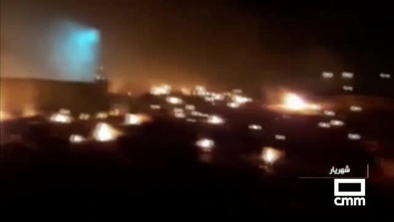 Mueren todas las personas a bordo del avión estrellado en Teherán (Irán)