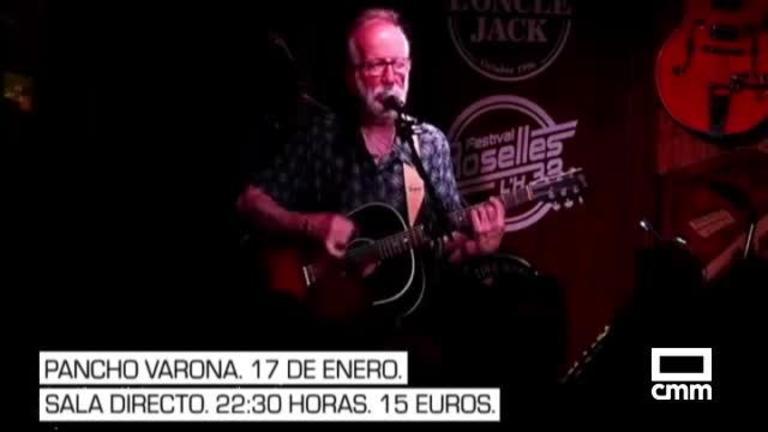 Pancho Varona, tributos a Mecano y Héroes del Silencio... La agenda cultural de Castilla-La Mancha