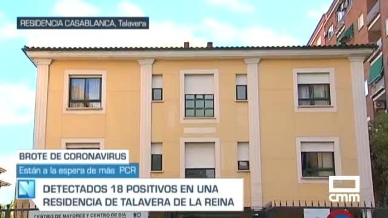 Brote en una residencia de ancianos de Talavera; hay 20 positivos asintomáticos